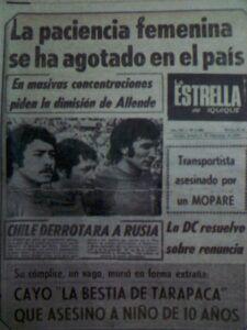 El golpe de Estado de 1973 en Iquique (testimonio)