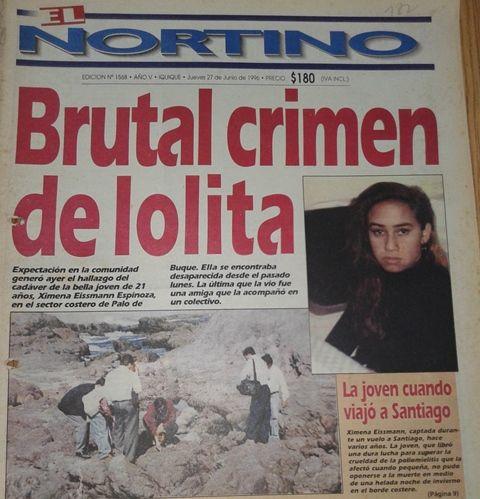 A 25 años del asesinato de Ximena Eissmann: Crimen sin castigo