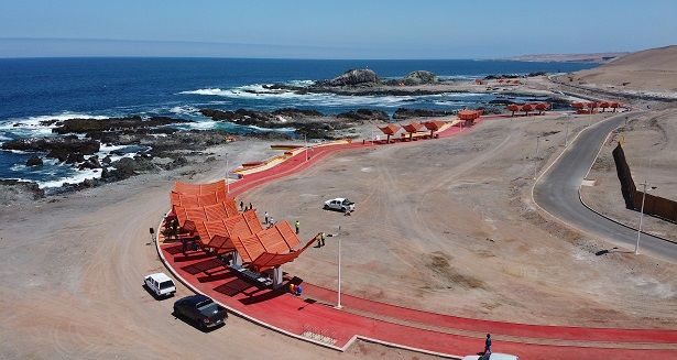 Gobierno inaugura borde costero Los Verdes Iquique 4 alta