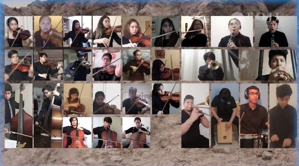 Orquesta Sinfónica Juvenil de Tarapacá estrena repertorio en concierto virtual