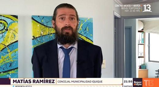 """Candidato a alcalde, Matías Ramírez: """"El gobierno debería pensar en un ingreso universal"""""""