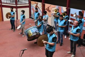 [FOTOS] Artistas reactivan la música en Iquique con un evento virtual