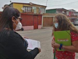 Familias de un barrio en Alto Hospicio participan activamente diseñando su espacio público