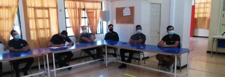 Funcionarios de Gendarmería y Sename se  capacitaron en responsabilidad adolescente
