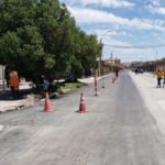 Pozo Almonte : Aguas del Altiplano culmina trabajos en calle Comercio