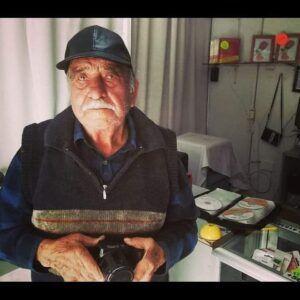 Falleció el legendario fotógrafo Osvaldo Urra Rodríguez.