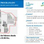 Aguas del Altiplano anuncia corte programado para Pozo Almonte