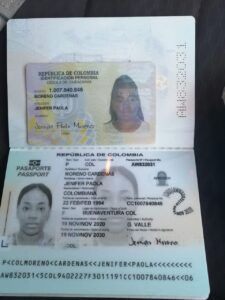 carnet ciudadana colombiana