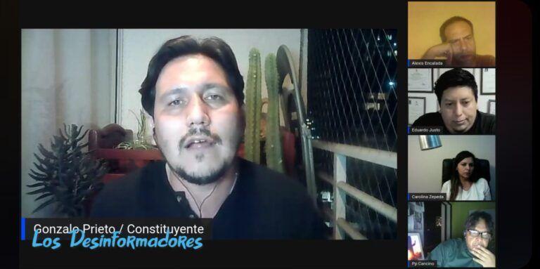 """Segundo programa de Los Desinformadores: Alcalde de Colchane Javier García """"el flujo migratorio ha disminuido, pero continúa"""""""