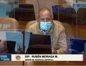 """Diputado Rubén Moraga: """"Los beneficios sociales están amarrados al Estado de Excepción"""""""