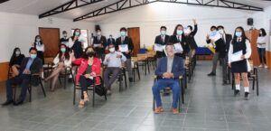 Estudiantes técnicos de Alto Hospicio se convierten en embajadores eficientes