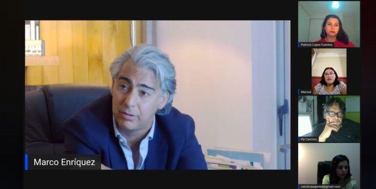 """Los Desinformados 2021: Marco Enrique-Ominami """"así como vamos va ganar la derecha una vez más"""""""