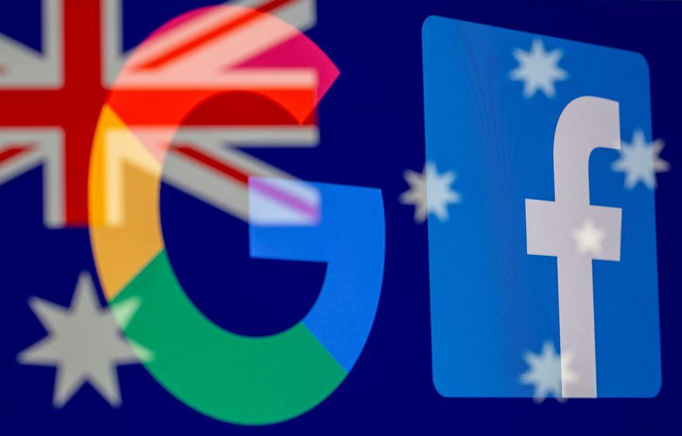 Ley australiana obliga a Google y Facebook pagar a los medios de comunicación que son enlazados en noticias