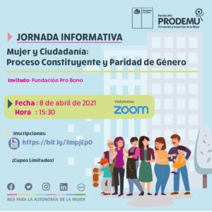 1 Quinta Jornada Informativa PRODEMU Tarapaca