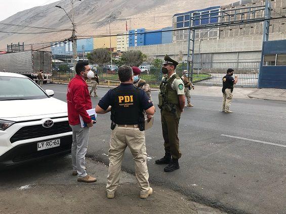 Fiscalización en Zofri suma 1.951 vehículos controlados