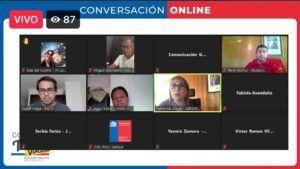 En Gobierno en Terreno Virtual  se informó a dirigentes y vecinos  de la Red de Protección Social