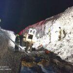 Pozo Almonte | Un fallecido en volcamiento de cargador frontal