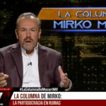 """Columna de Macari en La Red: """"Con crisis Covid y todo, los políticos no se demoran ni un segundo, por patalear por su pedazo del pastel"""""""