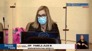 """Pamela Jiles se inmola por sus nietitos: """"Le digo al 'desgobierno' que si aprueban el tercer retiro no me presento como candidata"""""""