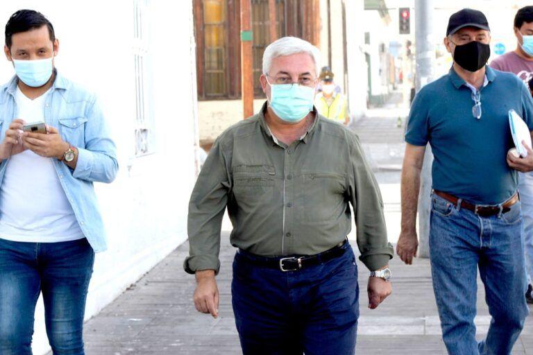 Delegado Presidencial tras desalojo de Plaza Brasil de taquito entrega el tema humanitario al Gobernador Carvajal y alcalde Soria