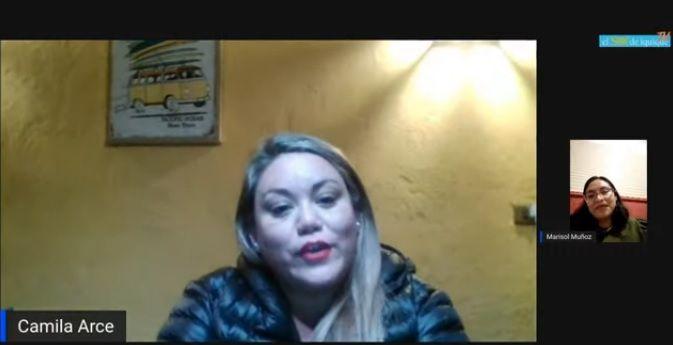 """En """"Los Desinformadores"""": Candidata a alcaldesa Camila Arce destacó el rol como mujer en la política"""