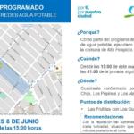 Este martes 8 de junio | Aguas del Altiplano anuncia corte programado para sector centro de Alto Hospicio
