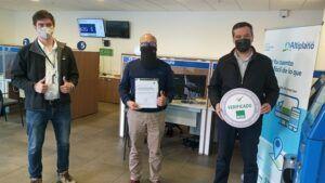 Aguas de Altiplano recibe Sello COVID-19 para Centro de Atención de Clientes de Iquique