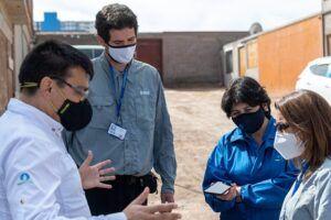 Aguas del Altiplano finaliza mejoras en  sector Juanita Fernández de Alto Hospicio