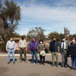 Cores visitan reserva Pampa del Tamarugal para ver plan de reforestación del Tamarugo