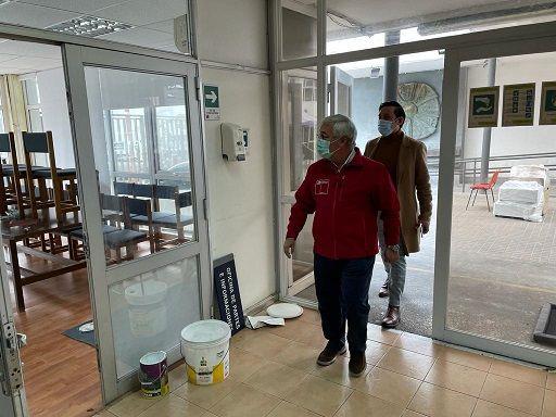 Echan una manito de gato a dependencias donde funcionara la sede del nuevo Gobernador Regional
