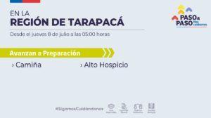 Siguen las buenas noticias para Tarapacá: Alto Hospicio y Camiña avanzan a fase de Preparación