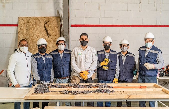 """Ecofibra produce paneles aislantes ecológicos para la construcción de viviendas con el apoyo del """"Plan Impulso Tarapacá"""""""