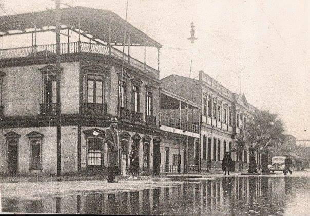 baquedanos lluvias 1940