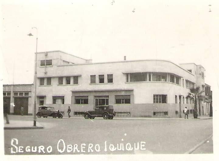 Edificio Seguro Obrero | @plumaiquiqueña
