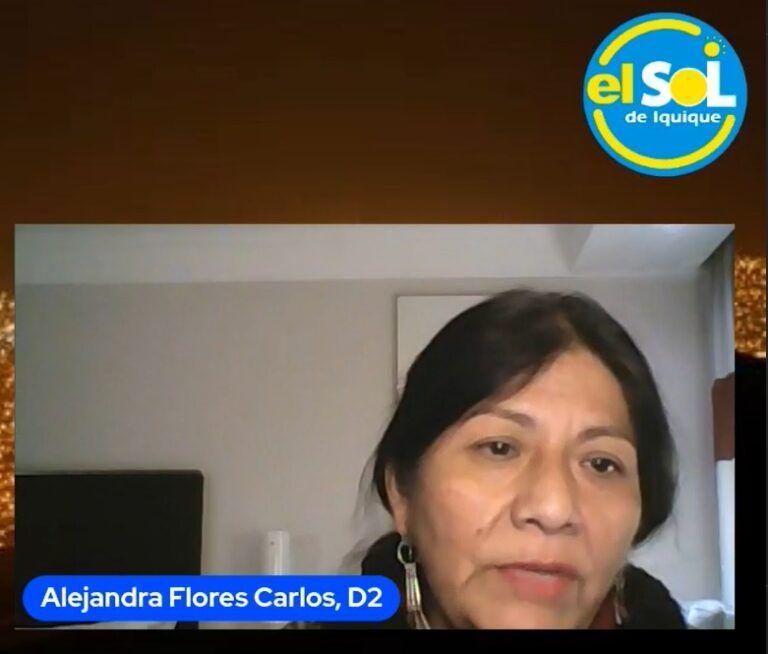 Alejandra Flores y el primer mes de constituyente: Ha sido súper intenso y con bastante trabajo