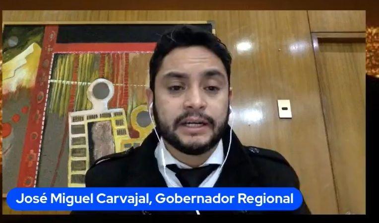 Gobernador Carvajal asegura que el Gobierno va quedar en la historia como entorpecedor de la instalación de gobernadores y constituyentes