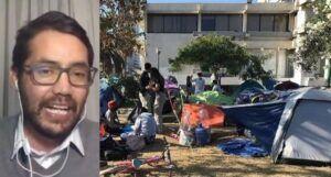 """Abogado Enzo Morales: """"Las autoridades deben solucionar situación de plaza Brasil y proteger a los niños"""""""