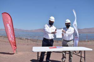 Aguas del Altiplano firmó contrato  para operar con energías renovables