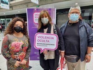 Campana Violencia Oculta PRODEMU en Mall Zofri 1