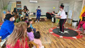 Mago Conejo Dia del Circo Chileno 4