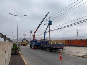 Cortes programados para 22 y 24 de septiembre Avanzan trabajos de ampliación en sector Las Parcelas
