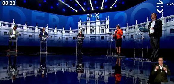 Debate presidencial de CHV y CNN desde emplazamientos, cuarto retiro  a Wikipedia