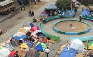 Vecinos de Plaza Brasil organizan marcha contra migrantes ilegales próximo miércoles 29