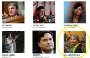 """Revista gringa Time destaca a Elisa Loncon como una de las """"100 personas más influyentes"""" del 2021"""