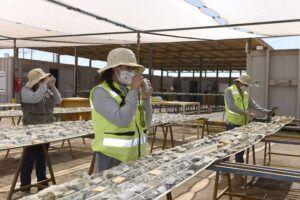Collahuasi y GeoBlast apuestan por jóvenes técnicos en geología de la región para incentivar la contratación local