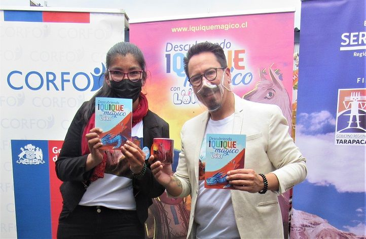 """Editan libro """"Iquique Mágico"""" con temática regional para niños"""