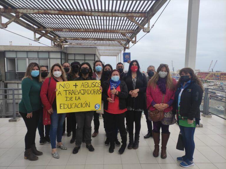Alejandra Ceballos apoya a dirigentes de Cormudesi que rechazan sumario a directivo