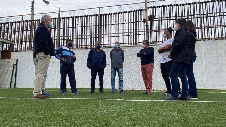 Corpesca pone a disposición de la comunidad nuevo complejo deportivo para formar futuros campeones